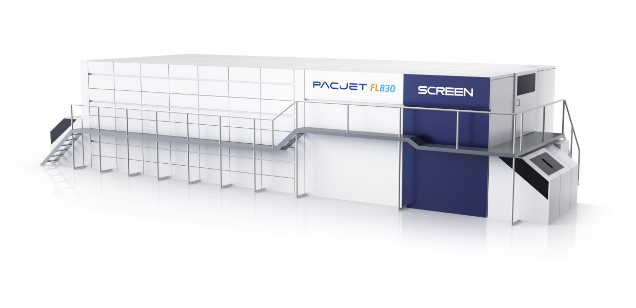SCREEN Develops High-speed, Water-based Inkjet System for Flexible Packaging