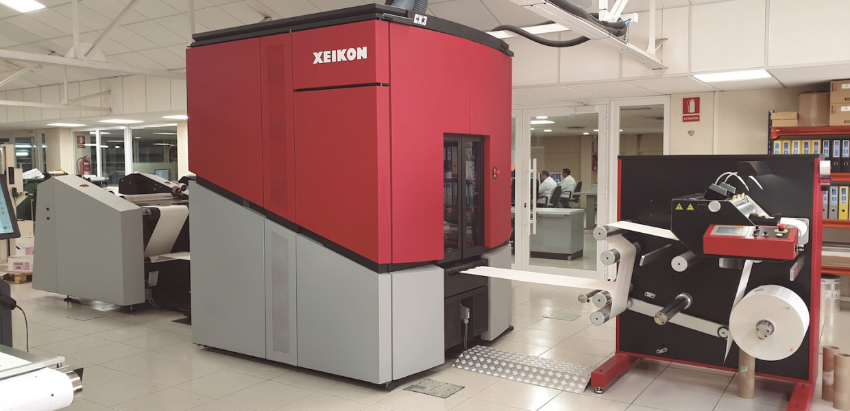 ARGRAF is committed to Xeikon's CX3 dry toner for label production
