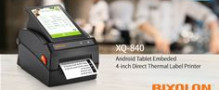 BIXOLON Launches the XQ-840 Android Embedded Desktop Printer to the European Market