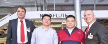 BOBST successfully launches its new NOVAFLUTE in-line laminating solution in Xiamen