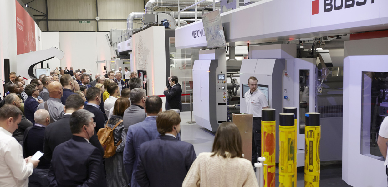 Full end-to-end flexo process experience at Bobst Bielefeld Flexo Center of Excellence Open House